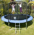 Bazoongi Deluxe 12ft Trampoline with Funring