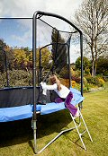 Sicherheitsnetz f�r 4,3m Trampolin - JumpKing Fun Ring