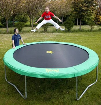 Bazoongi Popular 10 foot/10 ft Trampoline