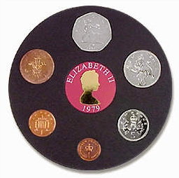 British 1979 Coin Set