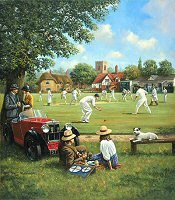 Cricket On The Village Green - Kevin Walsh