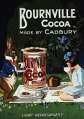 Carte Postale - Post Card  Bournville Cocoa