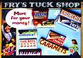 Carte Postale - Post Card  Frys Tuck Shop