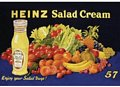 Heinz Salad Cream Postcard