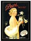 PEARS SOAP POSTCARD