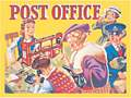 THE POST OFFICE (Carte Postale)