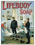 LIFEBUOY SAVES POSTCARD
