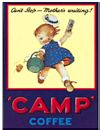 Camp Coffee - Mabel Lucie Attwell (Postkarte)