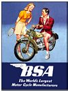 BSA COUPLE (Carte Postale)