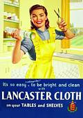 Carte Postale - Post Card  Lancaster Cloth