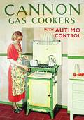 Post Card  Cannon Gas Cooker