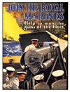 ROYAL MARINES POSTCARD
