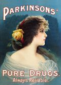 PURE DRUGS POSTCARD