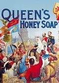 QUEEN`S SOAP POSTCARD