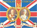 ROYAL JUBILEE CHOCOLATES (Carte Postale)
