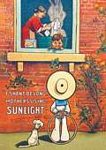 SUNLIGHT SHAN`T BE LONG (Postkarte)