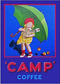 CAMP COFFEE POSTCARD
