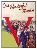 WONDERFUL WOMEN (Postkarte)