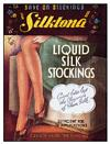 LIQUID STOCKINGS POSTCARD