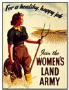 Women�s Land Army (Postkarte)