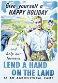 Give yourself a happy holiday Postcard