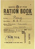 Postcard - Ration Book