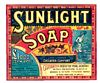 SUNLIGHT Soap Postcard