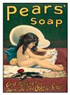 A2 Pears Soap Bathtime