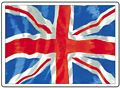 UNION JACK FRIDGE MAGNET