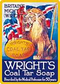 WRIGHTS LION MAGNET