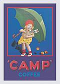 CAMP COFFEE FRIDGE MAGNET