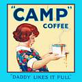Single Coaster - Camp Coffee