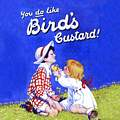 Single Coaster - Bird`s Custard