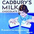 Single Coaster - Cadburys Milk Chocolate