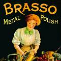 Single Coaster - Brasso Metal Polish