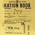 Single Coaster - Ration Book