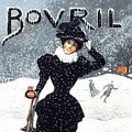 Single Coaster - Bovril (Lady Skating)