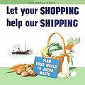 Single Coaster - Let your shopping help our shipping