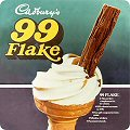 Single Coaster - Cadbury`s (99 Flake)