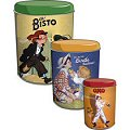Tin Canisters 3 Pack - Premier Collection