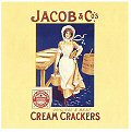 Single Coaster - Jacob & Co`s (Cream Crackers)