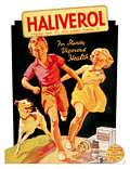 Carte Postale D�coup�e - HALIVEROL RETRO
