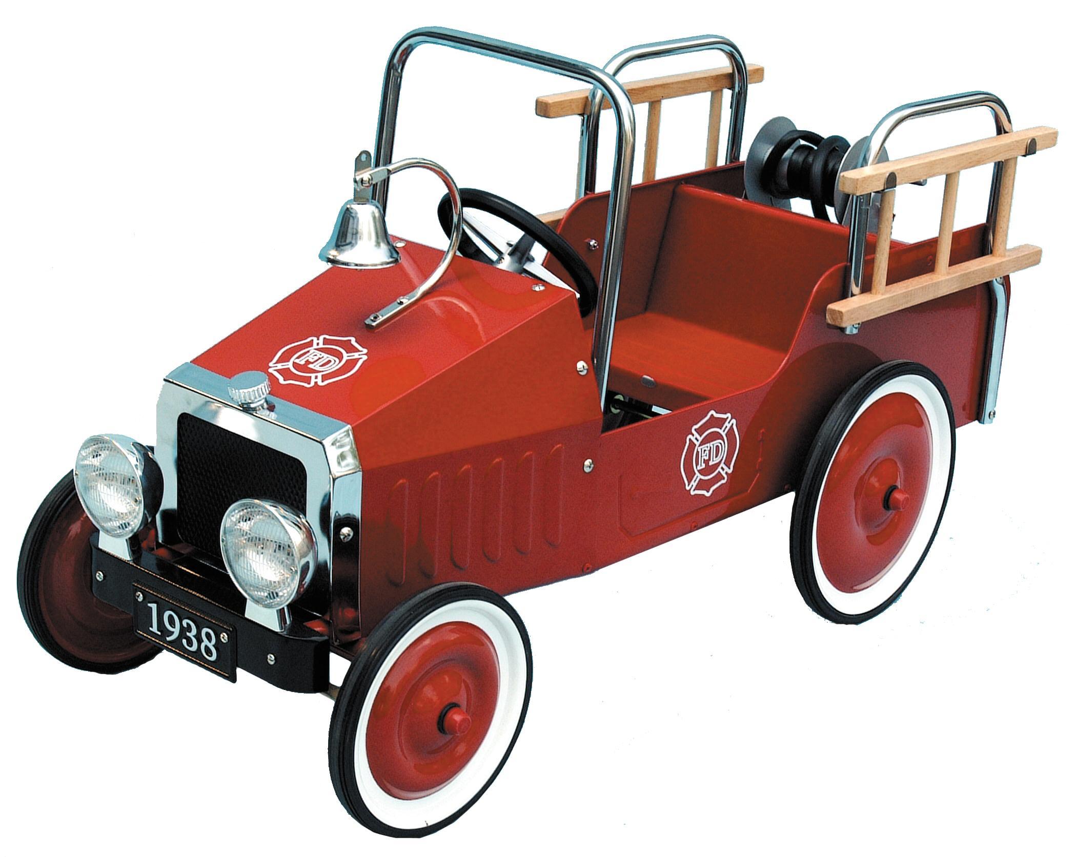 1938 Classic Fire Engine Pedal Car