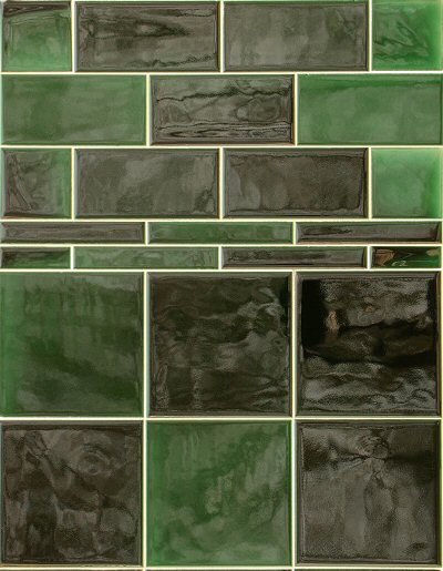 Green Victorian Wall Tiles