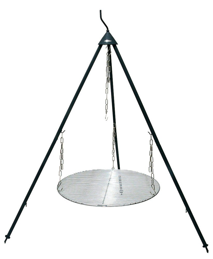 Bon Fire 1 75m High 3 Leg Stand With 60cm Grill Grid