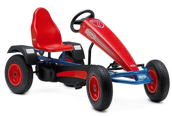 berg extra bf3 sport go kart in blue red. Black Bedroom Furniture Sets. Home Design Ideas