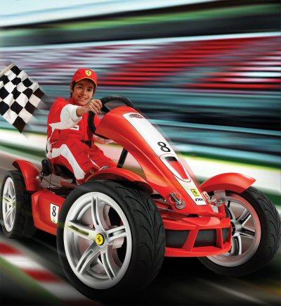 Ferrari Pedal Go Karts from
