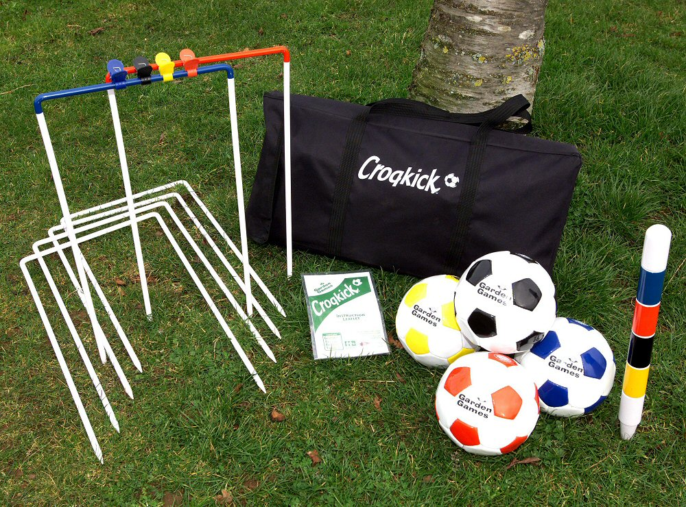 Croquet Game : Croqkick Fooball Croquet Game