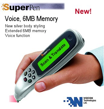 Wizcom SuperPen - Portable Scanner Translator