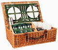 Highlander Picnic Basket (4 Place Settings)